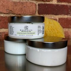 Lemongrass Rosemary 8oz Body Cream