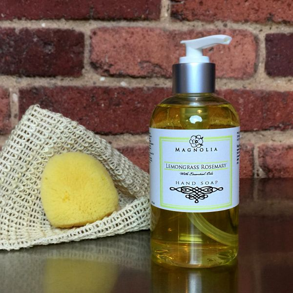 Lemongrass Rosemary 8oz Hand Soap