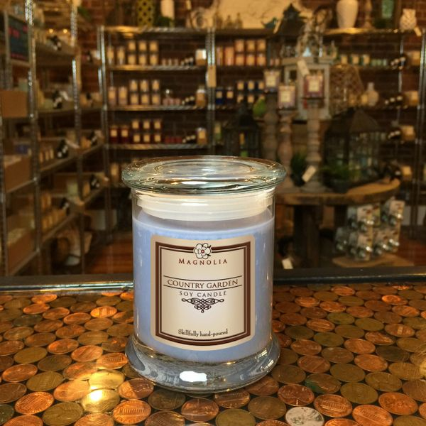 Country Garden 10oz Soy Candle