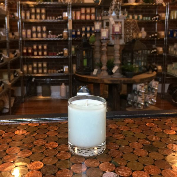 White Tea Berry 2.5oz Soy Candle in Glass