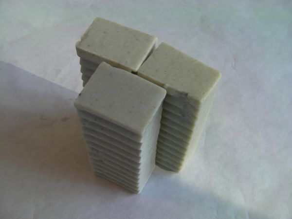 Unscented Olive Oil & Green Clay - 3 bars