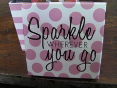 Sparkle Gift Basket with 4 Soaps