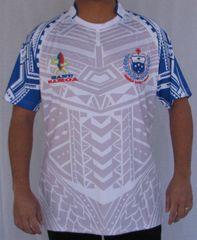 Rugby Jersey Manu Samoa (White) by Roja's Island Wear