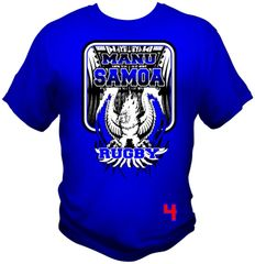 T-Shirt: Manu Samoa Eagle by One Tribe Graffix