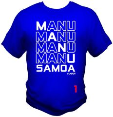 T-Shirt: 4Manu Samoa 1C by One Tribe Graffix
