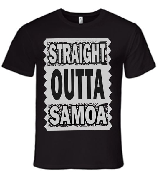 T-Shirt Straight Outta Samoa