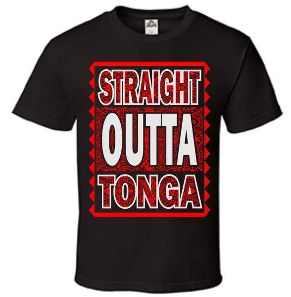 T-Shirt Straight Outta Tonga