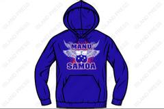 Hoodie - Manu Samoa -2017 Design by Island Press