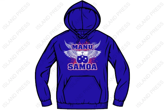 Hoodie - Manu Samoa -2017 Design by Island Press