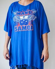 Manu Samoa Poncho