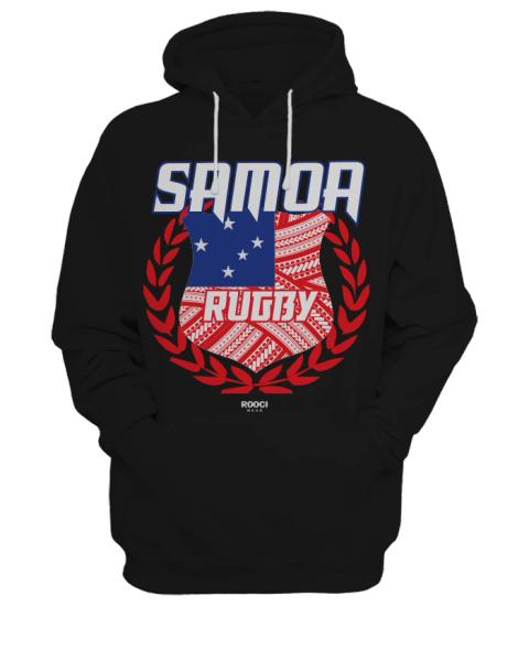 Samoa Rugby Hoodie by Rooci