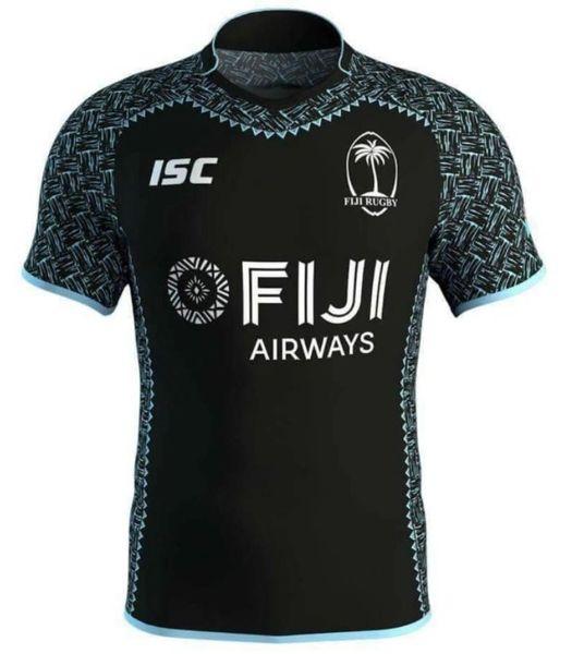 Fiji Sevens Jersey 2018 Black