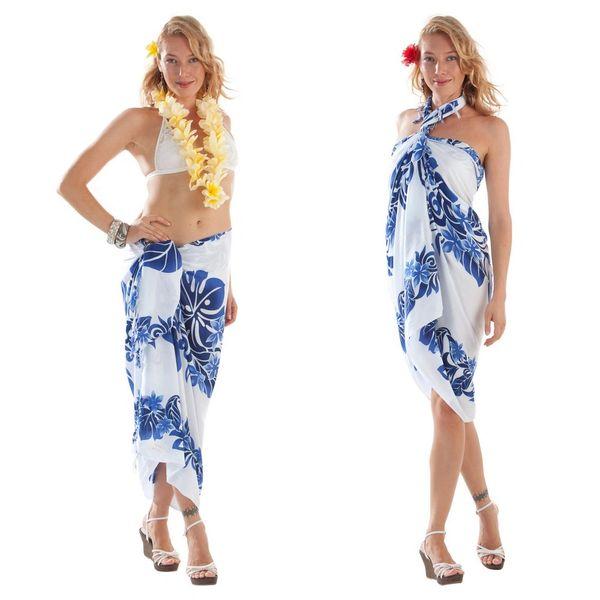 CLV.White: Blue Tahitian Lei