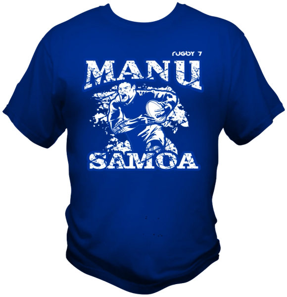 T-Shirt Manu Samoa by One Tribe Graffix