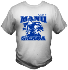 T-Shirt Manu Samoa by One Tribe Graffix (white)