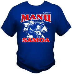 T-Shirt Manu Samoa by One Tribe Graffix 2c