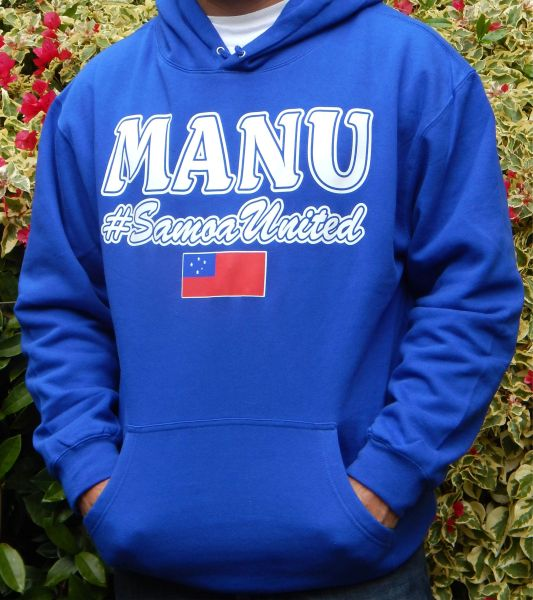 Hoodie Manu #SamoaUnited by Island Press