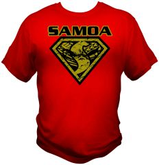 T Shirt: Super Samoan 2 Colours