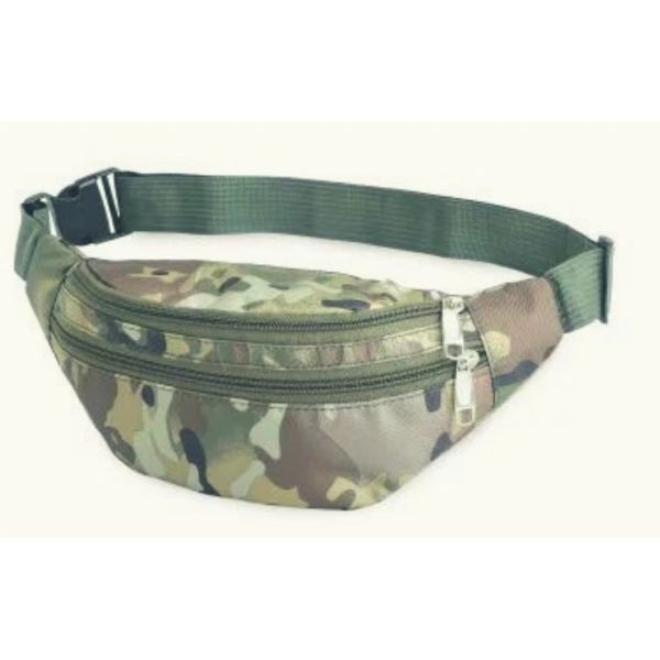 Camouflage casual waistbag