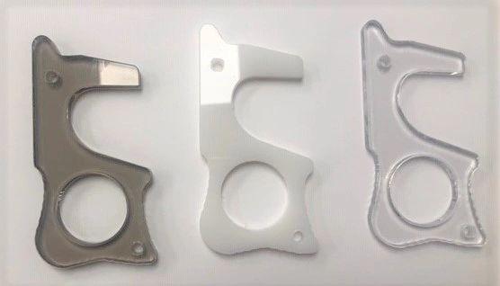 Plexiglas key - Made in West Island