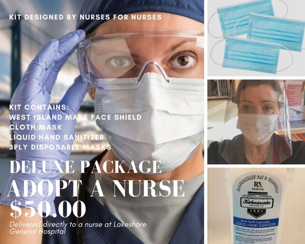 Deluxe ADOPT-A-NURSE package