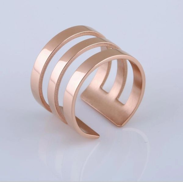 Stainless steel light weight adjustable ring
