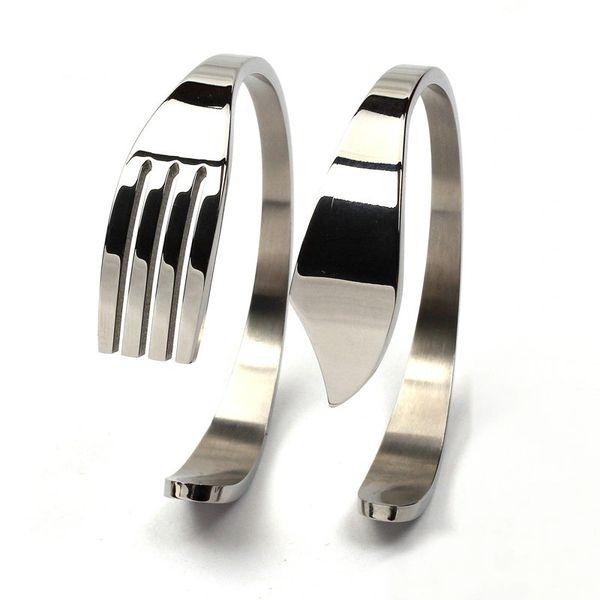 Stainless steel cutlery bracelet set