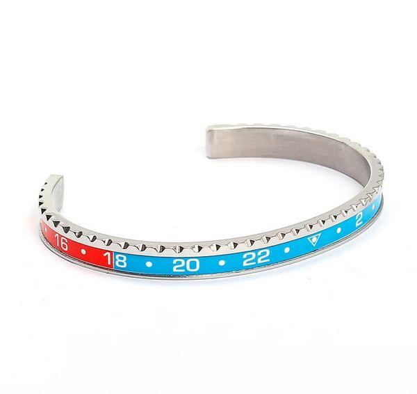Stainless steel speedometer bracelet