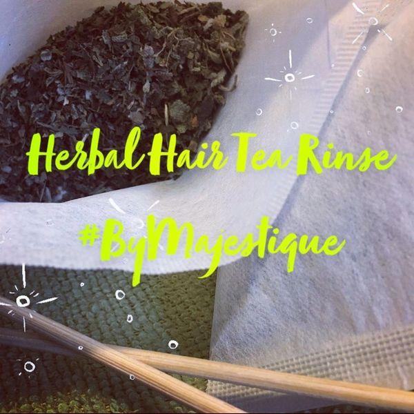 Hair Tea Rinse