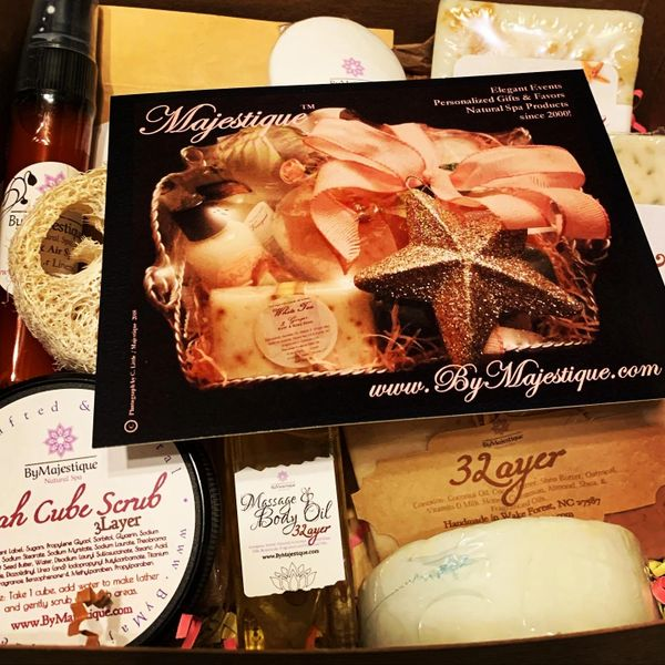 ByMajestique Spa Sampler Box