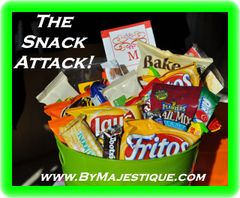 Game On! The Extreme Snack Basket