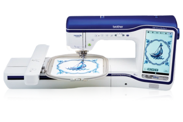 Edge to edge quilting with your embroidery machine