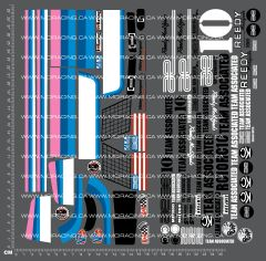 1/10TH ASSOCIATED - RC10 DECALS