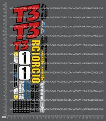 1/10TH ASSOCIATED - RC10 T3 BOX ART DECALS