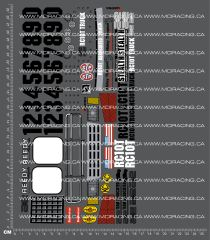 1/10TH ASSOCIATED - RC10-T DECALS