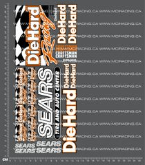 1/10TH DIEHARD RACING / SEARS DECALS