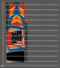 1/10TH KYOSHO - MAXXUM FF DECALS