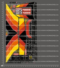 1/10TH KYOSHO - OPTIMA MID DECALS
