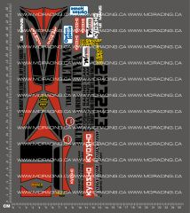 1/10TH KYOSHO - TURBO ULTIMA DECALS