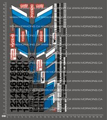 1/10TH KYOSHO - ULTIMA 2 DECALS