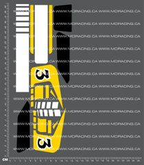 1/10TH LOSI - JRX 2 - BOX ART PANEL DECALS