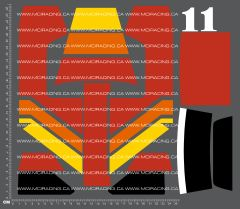 1/10TH LOSI - JRX-T - BOX ART PANEL DECALS