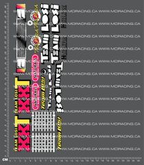 1/10TH LOSI - XX-T DECALS