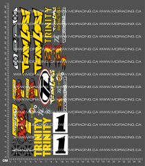 1/10TH LOSI - XXX-T MF 1 DECALS