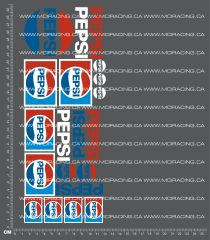 1/10TH PEPSI CLASSIC DECALS