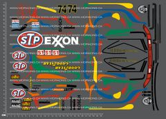 1/10TH PORSCHE - 911 GT2 DAYTONA 1996 DECALS