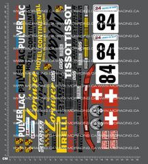 1/10TH PORSCHE - 911 LILIAN DECALS