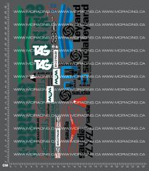 1/10TH TAM 58019 - WILLIAMS FW07 DECALS
