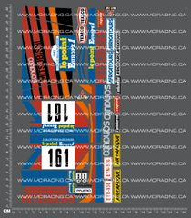 1/10TH TAM 58044 - MITSUBISHI PAJERO DECALS