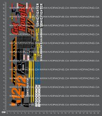 1/10TH TAM 58071 - SONIC FIGHTER DECALS